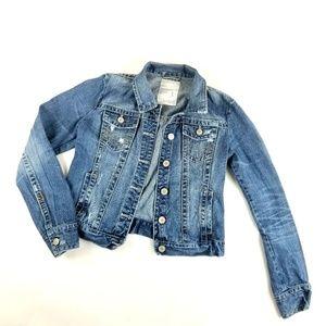 Womens Aeropostale Jean Jacket Size L